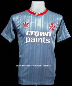 Liverpool 1987 Away shirts (www.facebook.com/3in1football) #LFC #Liverpool #liverpoolfc