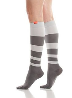 b1c80c7862 Love your legs with VIM & VIGR Charcoal & Grey (Nylon) Compression Socks.  The nylon collection is made with high quality fabrics and has lively and  colorful ...