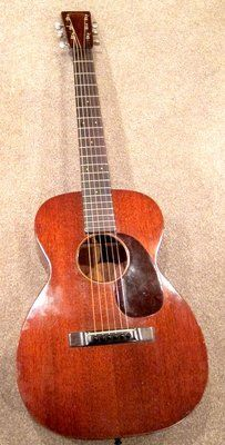 VINTAGE 1935 MARTIN 0-17 GUITAR #63124 IN VERY FINE CONDITION
