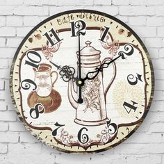 kitchen wall clock vintage home decor large silent wall clock quartz watch wall living room decoration watches horloge murale