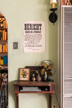 The Bericht poster is from Bookman's alley, a Chicago-based bookstore that is now unfortunately closed.