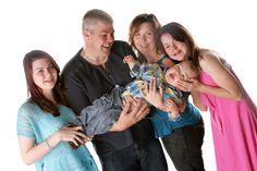 Rebecca, Steve & Family