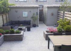 86 Architectural Design Pictures for Residential Buildings Garden Design London, Back Garden Design, Terrace Design, Backyard Garden Design, Small Backyard Landscaping, Backyard Patio, Eco Garden, Home And Garden, Back Gardens