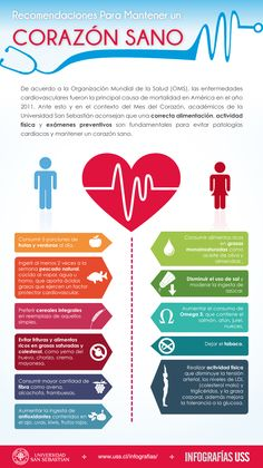 Recomendaciones para mantener un corazón sano