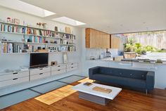 Open Plan House Filled with Light