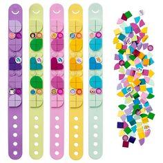 LEGO DOTS Bracelet Mega Pack DIY Creative Craft Bracelet-Making Kit For Kids 41913 : Target Cool Art Projects, Arts And Crafts Projects, Creative Crafts, Fun Crafts, Creative Art, Diy Bracelets Kit, Bracelet Making, Diy Jewelry Set, Cute Friendship Bracelets