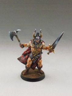 Conan board game miniature from Monolith Games. Sculpted by Stéphane Simon, painted by Martin Grandbarbe