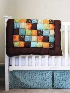 Puffy quilt (how comfy does that thing look!?) - Easy to make and fun to give! @ Glenda Moyers you need to do this!!!