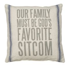 Rustic Sitcom Accent Throw Pillow
