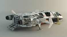 Spaceship+-+Concept+by+leccotamura.deviantart.com+on+@DeviantArt