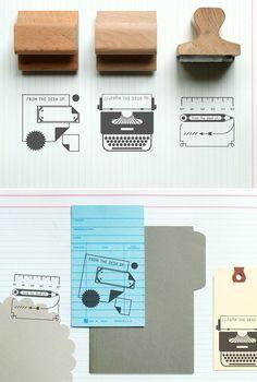 La papelería vintage de Present and Correct