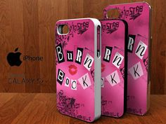 Mean Girls Burn Book spesial design iphone 4/4s by KOWLONGJEMBUTAN, $13.99