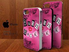 Mean Girls Burn Book spesial design iphone 4/4s by KOWLONGJEMBUTAN, $13.99