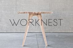 Worknest Handcrafted Modular Workspace for Creative People by Wiktoria Lenart
