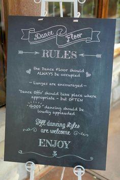 Dance floor Dance Floor Rules, Greggs, Chalkboard Quotes, Art Quotes, Our Wedding, Encouragement, Flooring, Deco, Wood Flooring