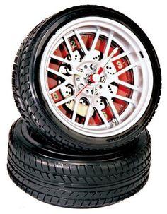 BBS Wheels Rims Tire Alarm Clock with Brake & Caliper