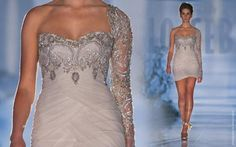vestido de noiva curto bordado