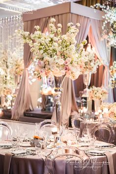 Stunning Cherry Blossom Wedding At The Four Seasons Hotel - Wedding Decor Toronto Rachel A. Clingen Wedding & Event Design