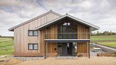 Origin Bi-fold doors and windows Aluminium French Doors, Windows 20, Modern Barn House, Grand Designs, New Builds, Home Decor Inspiration, Building A House, Shed, The Originals