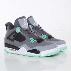 i like to wear jordans and so far the green glow 4's are my favorite