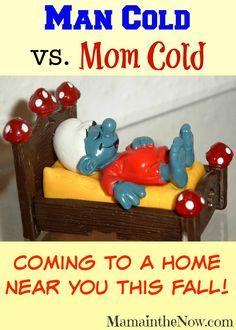 Man Cold vs Mom Cold