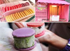 Penguin Macaroon   ☞ Address (Daehangno Main Branch): 258-15, Changgyeonggung-ro, Jongno-gu, Seoul ☞ Directions: Get off at Hyehwa Station (Seoul Subway Line 4) Exit 4, go straight for 50 meters and turn right. ☞ Hours: 12:30-21:00 (closed Monday) ☞ Website: www.penguinmacaron.com (Korean only)