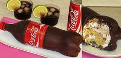 Se régaler avec thermomix : Le gâteau Bouteille de coca ( poire / nutella)