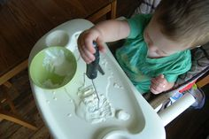 Young Nesters: Sensory Play: Science in the Kitchen