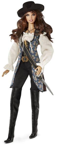 Barbie Collector T7655 - Pirates of the Caribbean Angelica: Amazon.it: Giochi e…