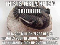 Meet Terry. #atheist #atheism