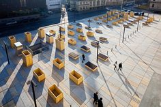 #landarch #urbandesign Courthouse and Public Square / Christian Kronaus + Erhard An-He Kinzelbach