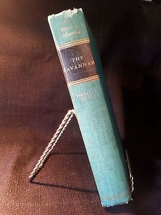 The Savannah by Thomas L. Stokes 1951 Rivers of America Rinehart & Company USA