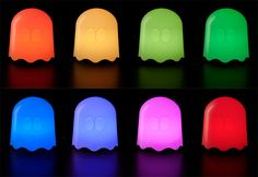 Pac-Man Ghost Lamps