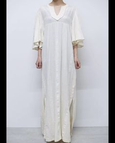 CPCM/Vintage Styling #vintage #vintagedress #vintageonepiece #whitedress #bohemiandress