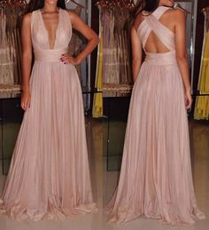 Pd61202 Charming Prom Dress,Chiffon Prom Dress,A-Line Prom Dress,V-Neck Evening Dress