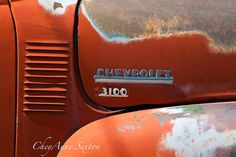 Chevrolet Orange  name plate for Old Chevy by NewMexicoMtnGirl $40. for an 8x12