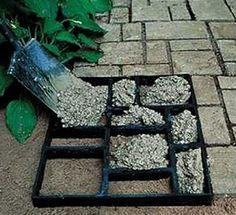 come fare un vialetto di pietre
