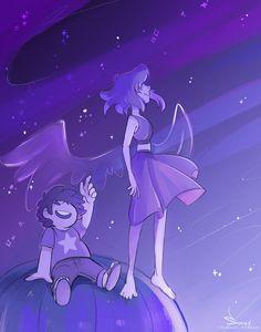 Steven universe,фэндомы,SU art,SU Персонажи,Steven (SU),Lapis Lazuli