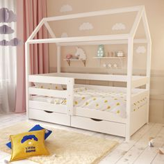 Children's Place, Kids Bedroom, Playroom, Toddler Bed, Sweet Home, Baby, Furniture, Home Decor, Pastel