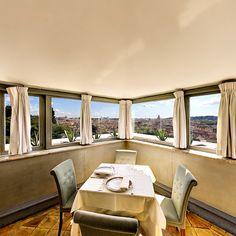 Sala Quirinale and it's breathtaking view #exclusive #restaurant #rome #panorama