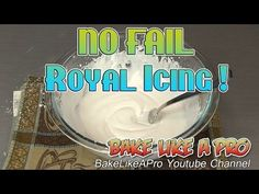 Easy Royal Icing Recipe ! - Official Wilton Royal Icing Recipe - YouTube