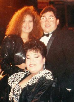 Selena, Suzette, and a Friend at the 1989 Tejano Music Awards