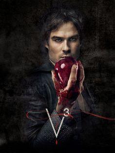 The Vampire Diaries season 3 promo posters.