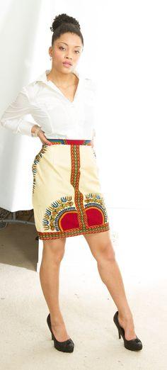 Modern eXOTIC African / ankara skirts by BeniBooStyles on Etsy, $44.99♦ℬїт¢ℌαℓї¢їøυ﹩♦