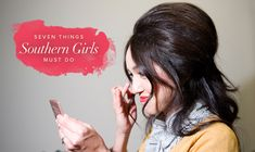 There Are 7 Things Every Southern Girl Needs to Learn to Do: Teasing Hair is One of Them!