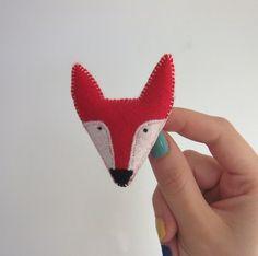 red fox brooch £7.00