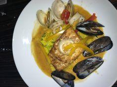 Seafood plate!