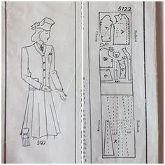 Tradera ᐈ Köp & sälj begagnat & second hand Swedish Sewing, Fri, Vintage Sewing Patterns, Rockabilly, Retro Vintage, Journal, Rock Style