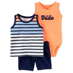 6aac9c8c31b 4-Pack Boys Whale Sleeveless Onesies® Bodysuits