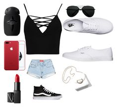"""Summer1"" by mneayen on Polyvore featuring Boohoo, Vans and NARS Cosmetics"